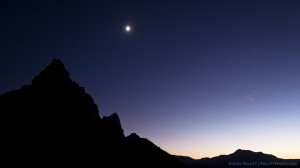 Moon over The Watchman